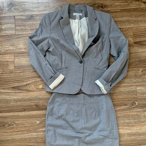 H&M Skirt & Blazer Suit